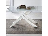 Tavolo rettangolare con basamento con basamento centrale Artistico ...
