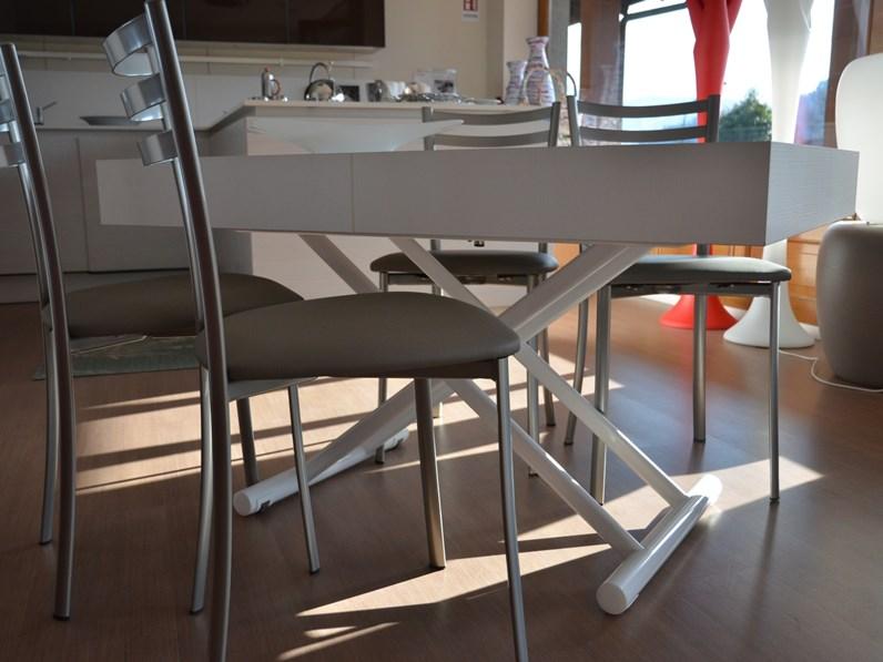 Tavolo rettangolare allungabile Block di La seggiola in Offerta Outlet