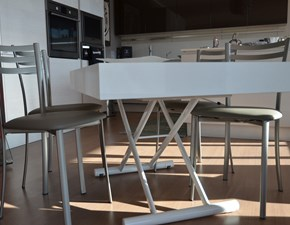 Tavolo rettangolare allungabile Block di La seggiolain Offerta Outlet