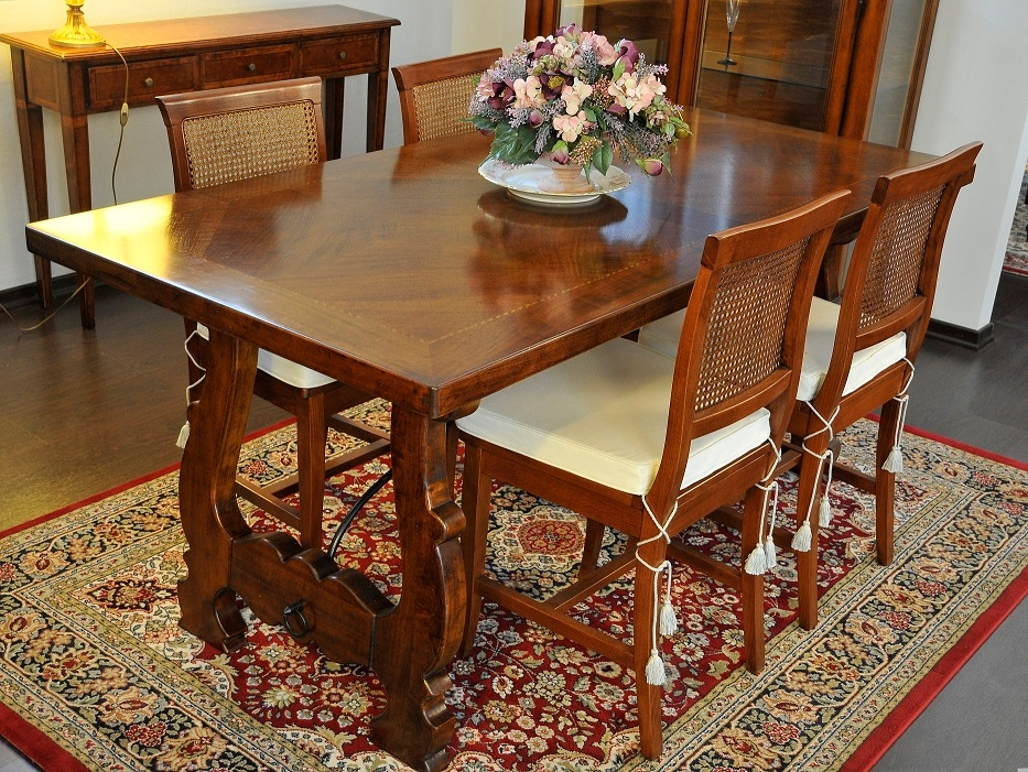 Tavolo rettangolare fratino sconto outlet vero affare - Sedie per tavolo fratino ...