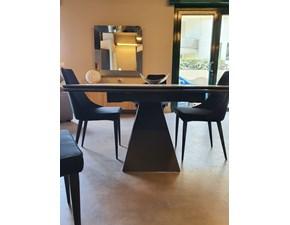 Tavolo rettangolare in ceramica Dakota Di lazzaro in Offerta Outlet