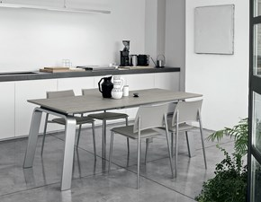 Tavolo rettangolare in ceramica Deimos 130 Mottes selection in Offerta Outlet