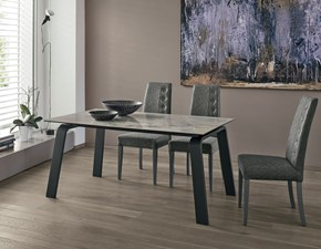 Tavolo rettangolare in ceramica Deimos 160 Target point in Offerta Outlet