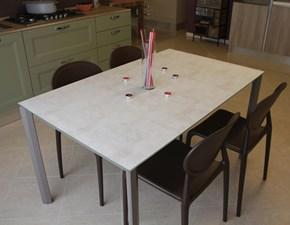 Tavolo rettangolare in ceramica Genio Gipi in Offerta Outlet