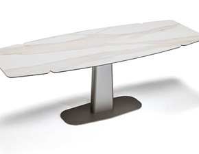 Tavolo rettangolare in ceramica Linus keramik drive  Cattelan in Offerta Outlet
