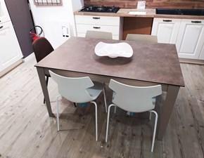 Tavolo rettangolare in ceramica Long way La seggiola in Offerta Outlet