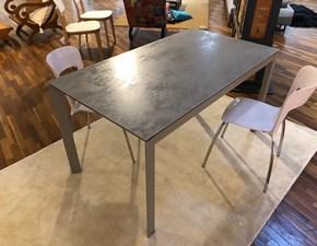 Tavolo rettangolare in ceramica Paris Ingenia in Offerta Outlet
