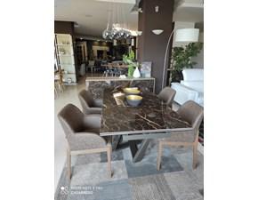 Tavolo rettangolare in ceramica Priamo Target point in Offerta Outlet