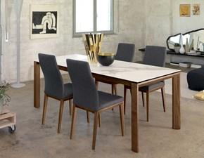 Tavolo rettangolare in ceramica T80 fusion Friulsedie in Offerta Outlet