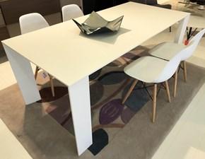Tavolo rettangolare in laccato Magno Pianca in Offerta Outlet