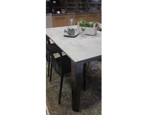Tavolo rettangolare in laminato Chef Bontempi casa in Offerta Outlet