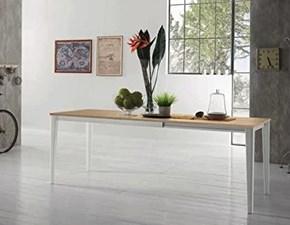 Tavolo rettangolare in laminato Dom * Zamagna in Offerta Outlet