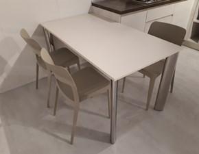 Tavolo rettangolare in laminato Elios Artigianale in Offerta Outlet
