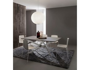 Tavolo rettangolare in laminato Renzo La primavera in Offerta Outlet