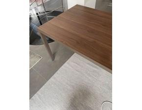 Tavolo rettangolare in laminato Soffio Pianca in Offerta Outlet