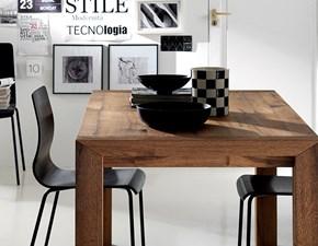 Tavolo rettangolare in legno Agape Scavolini in Offerta Outlet