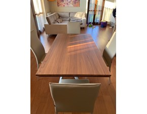 Tavolo rettangolare in legno Artistico Bontempi in Offerta Outlet