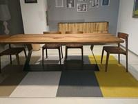 Tavolo rettangolare in legno Bedrock c Riva 1920 in Offerta Outlet