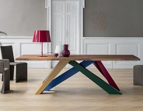 Tavolo rettangolare in legno Big table Bonaldo in Offerta Outlet