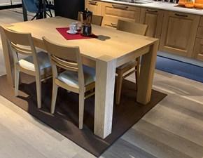 Tavolo rettangolare in legno Bios 160 Sedit in Offerta Outlet