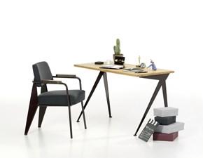Tavolo rettangolare in legno Compas direction Vitra in Offerta Outlet