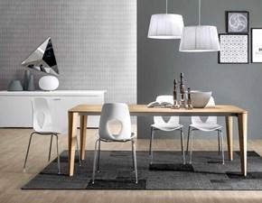 Tavolo rettangolare in legno Dafne Tonin casa in Offerta Outlet