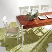 tavolo fisso allungabile 160 x 85 in ciliegio