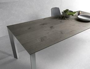 Tavolo rettangolare in legno Diamante Pointhouse in Offerta Outlet