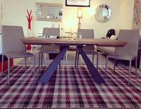 Tavolo rettangolare in legno Eliot wood drive Cattelan in Offerta Outlet