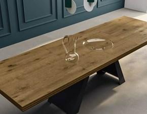 Tavolo rettangolare in legno Horizon Mirandola in Offerta Outlet
