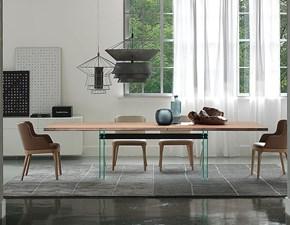 Tavolo rettangolare in legno Ikon Cattelan in Offerta Outlet