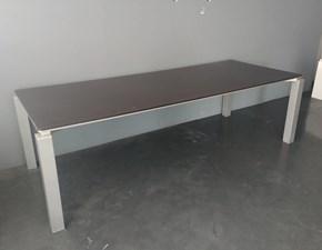 Tavolo rettangolare in legno Lema Lema in Offerta Outlet