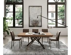 Tavolo rettangolare in legno Lungo largo  Ozzio in Offerta Outlet