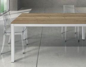 Tavolo rettangolare in legno Macart843 Artigianale in Offerta Outlet