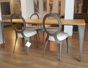 Tavolo rettangolare in legno Malaga &  miss Cantori in Offerta Outlet