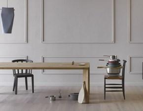 Tavolo rettangolare in legno Manero Miniforms in Offerta Outlet