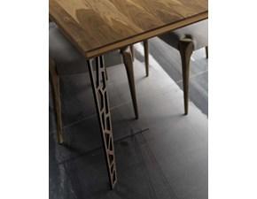 Tavolo rettangolare in legno Mod. b-191 Dale in Offerta Outlet