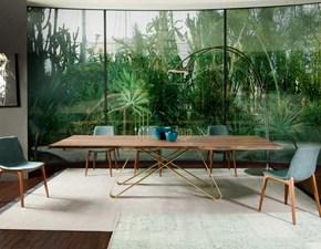 Tavolo rettangolare in legno Mottes mobili tavolo status Artigianale in Offerta Outlet