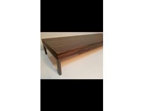 Tavolo rettangolare in legno Panca romeo Zanotta in Offerta Outlet