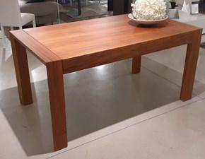 Tavolo rettangolare in legno Philosophy Artigianale in Offerta Outlet