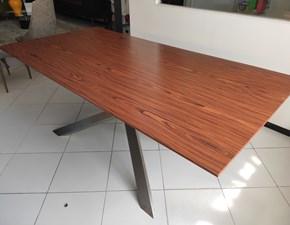 Tavolo rettangolare in legno Principe Artigianale in Offerta Outlet