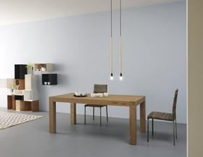 Tavolo rettangolare in legno Pth-pg42 Artigianale in Offerta Outlet