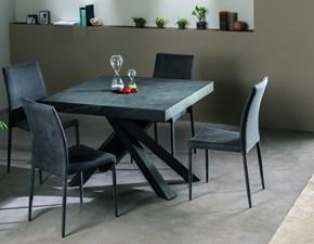 Tavolo rettangolare in legno Quark 130.21 Gipi in Offerta Outlet