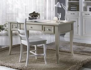 Tavolo rettangolare in legno Scrivania country scontata del 40% Artigianale in Offerta Outlet