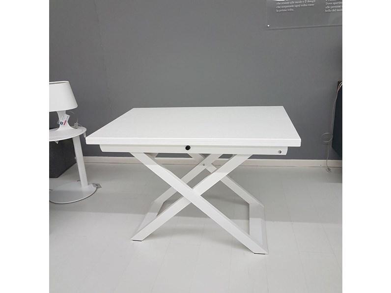 Tavolino House Calligaris.Tavolo Rettangolare In Legno Sottosopra Calligaris In Offerta Outlet