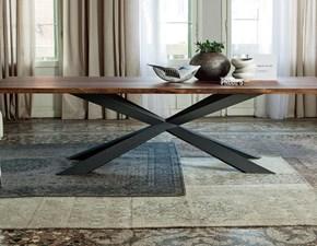 Tavolo rettangolare in legno Spyder wood Cattelan in Offerta Outlet