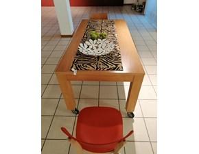 Tavolo rettangolare in legno Table Artigianale in Offerta Outlet