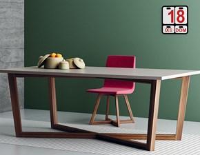 Tavolo rettangolare in legno Table imperial line Artigianale in Offerta Outlet