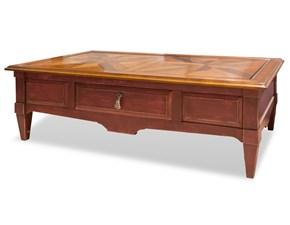 Tavolo rettangolare in legno Tavolino Artigianale in Offerta Outlet