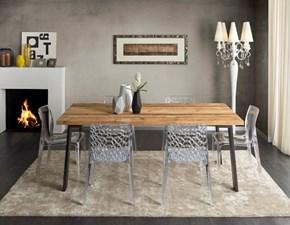 Tavolo rettangolare in legno Tavolo design moderno mottes mobili Artigianale in Offerta Outlet